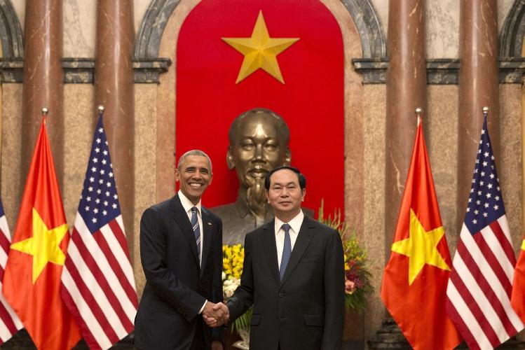Barack Obama, Tran Dai Quang